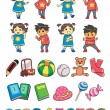 Kids Style — Stock Vector #5415840