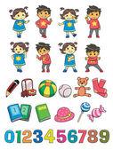 Kids Style — Stock Vector
