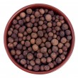 Stock Photo: Allspice in ceramic bowl