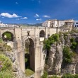 New bridge in Ronda, Andalucia, Spain — Foto Stock