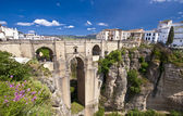 New bridge in Ronda, Andalucia, Spain — Stock Photo