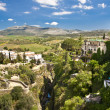 Stock Photo: Panoramic view of Ronda, Andalusia, Spain
