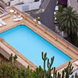 Rooftop pool — Foto de Stock