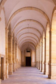 Arched hall - architectural detail. — Stock Photo