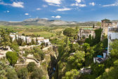 Panoramic view of Ronda, Andalusia, Spain — Stock Photo