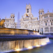 Stock Photo: Plazde Cibeles, Madrid, Spain.