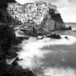 Stock Photo: Manarolfishermvillage in Cinque Terre, Italy