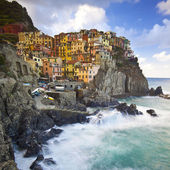 Manarola fisherman village in Cinque Terre, Italy — Stock Photo