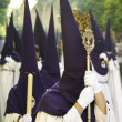 Semana Santa (Holy Week) in Andalusia, Spain. — Stock Photo