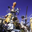 Stock Photo: Fallas 2011, Valencia, Spain