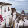 Stock Photo: Street of old Spanish town