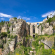 Panoramic view of Ronda, Andalucia, Spain — Foto de Stock