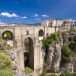 New bridge in Ronda, Andalucia, Spain — Stock Photo