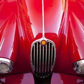 Red luxury retro sports car — Stock Photo