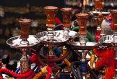Pipas de agua - shisha, narguile, cachimba... — Foto de Stock