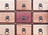 Wooden pigeonhole — Stock Photo