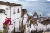 Street of an old Spanish town — Stock Photo