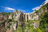 Panoramic view of Ronda, Andalucia, Spain — Stock Photo