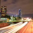 LA Down Town High Way - Stock Photo