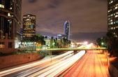 LA Down Town High Way — Stock Photo