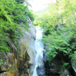 Waterfall in Yamanashi Japan — Stock Photo