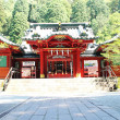 Japanese temple in ShizuokJapan — Stock Photo #6365442