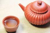 Juego de té asiático — Foto de Stock