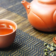 chinese tea set — Stock Photo