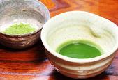 японский зеленый чай — Стоковое фото