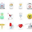 Medical icons part 1 — Stock Vector