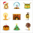 Christmas icons, part 3 — Stock Vector #5402753