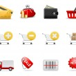 Shopping icons part 2 — Stock Vector