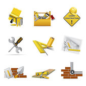 Construction tools — Vettoriale Stock