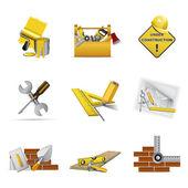 Stavební nástroje — Stock vektor