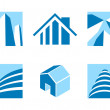 Real estate icons 2 — Stock Vector