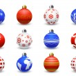 Christmas balls - Imagen vectorial