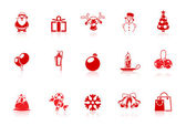 Christmas icons | Piccolo series — Stock Vector