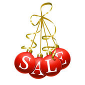 Christmas sales symbol — Stock Vector
