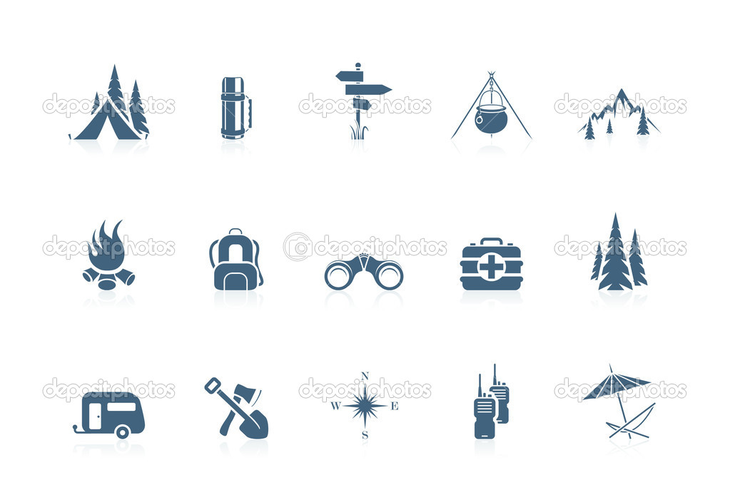 Camping icons | piccolo series  Stock Vector #5694426