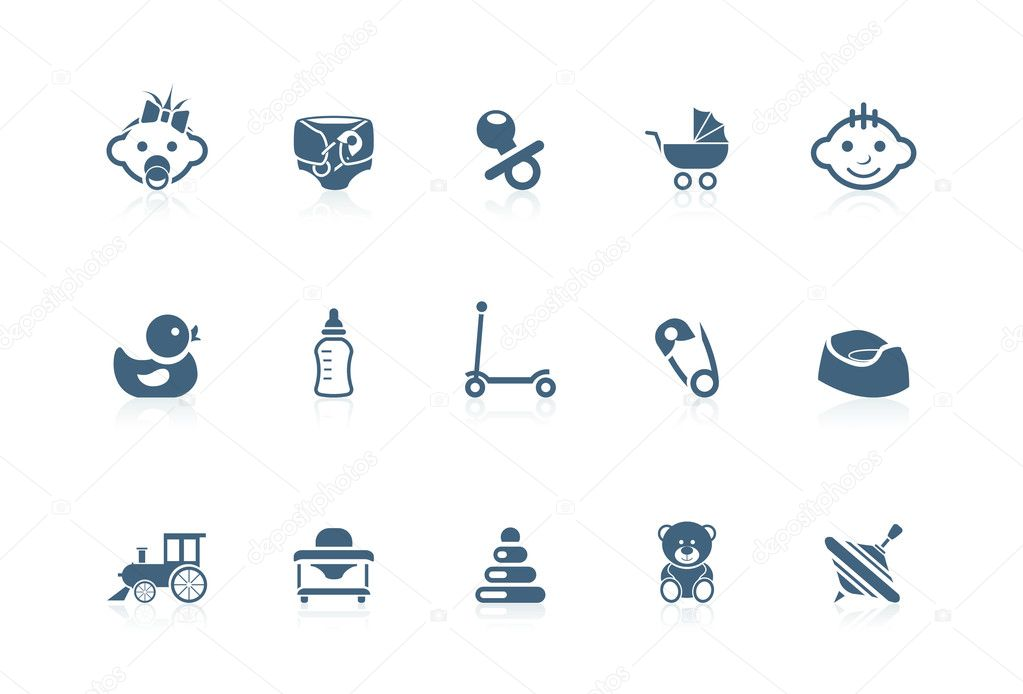 Baby icons | Picco series — Stockvektor #5694427