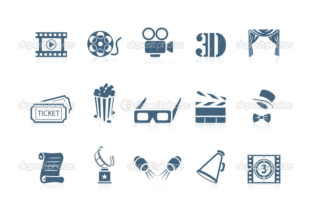 Movie icons | piccolo series — Stock Vector #5694452