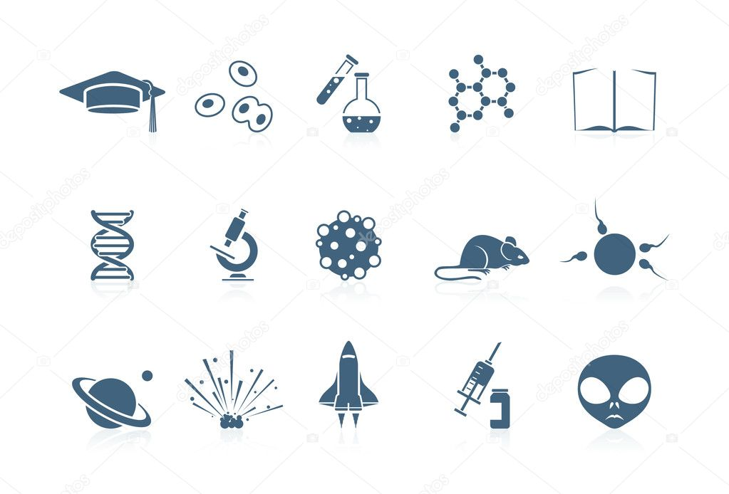 Science icons | Piccolo series  Stock Vector #5694462