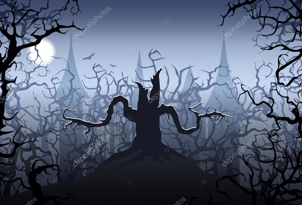 Halloween night  — Stock Vector #5694488