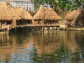 Tropické chaty — Stock fotografie