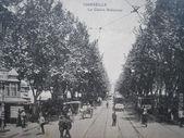 Marsilya vintage kartpostal — Stok fotoğraf