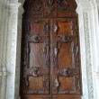 Old door in Doge's palace in Venice — Stock Photo