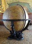 Globe in Doge's palace in Venice — Zdjęcie stockowe