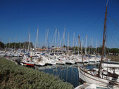Marina of Boyardville on Oleron's island — Stock Photo
