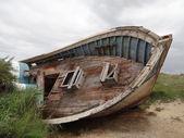 Trawler wreck — Stock Photo