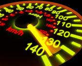 Illustration of a speedometer — Stock Photo